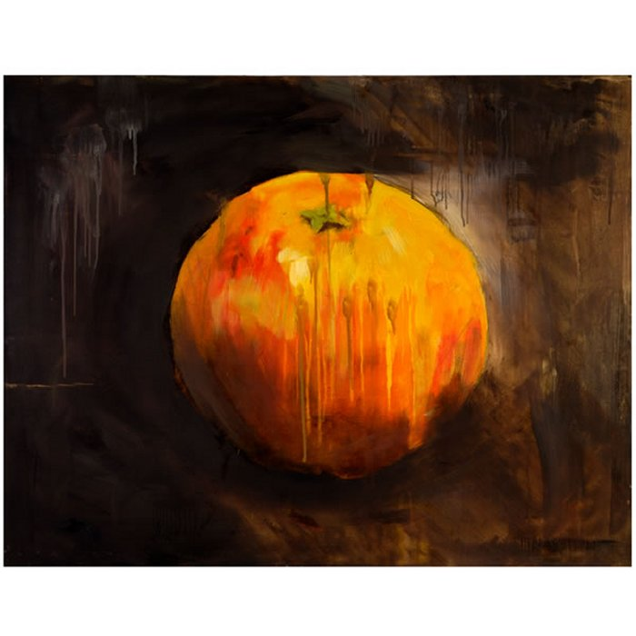 Canvas Wall Art - Orange