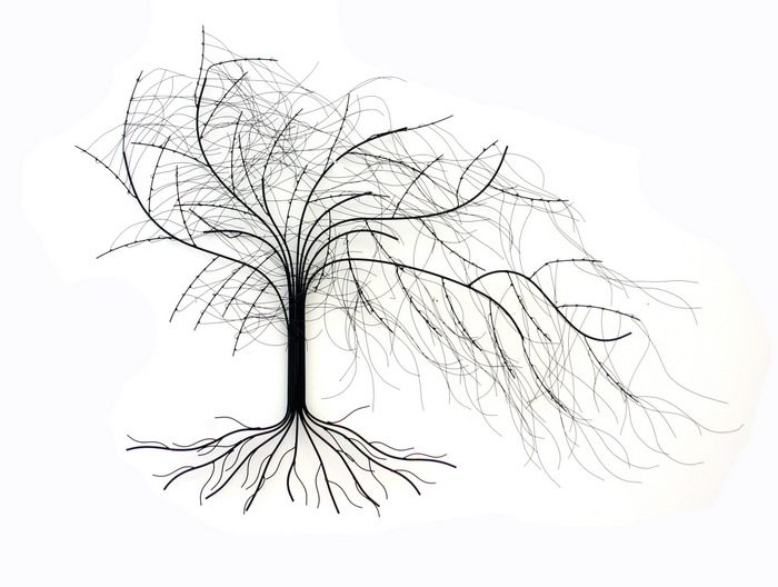 brilliant wall art 0121 435 1145 metal wall art windy oak tree
