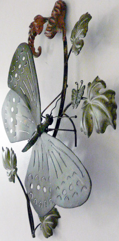Wall  Metal on This Wonderful Centre Piece Of Hand Made Metal Wall Art Consists Of 1