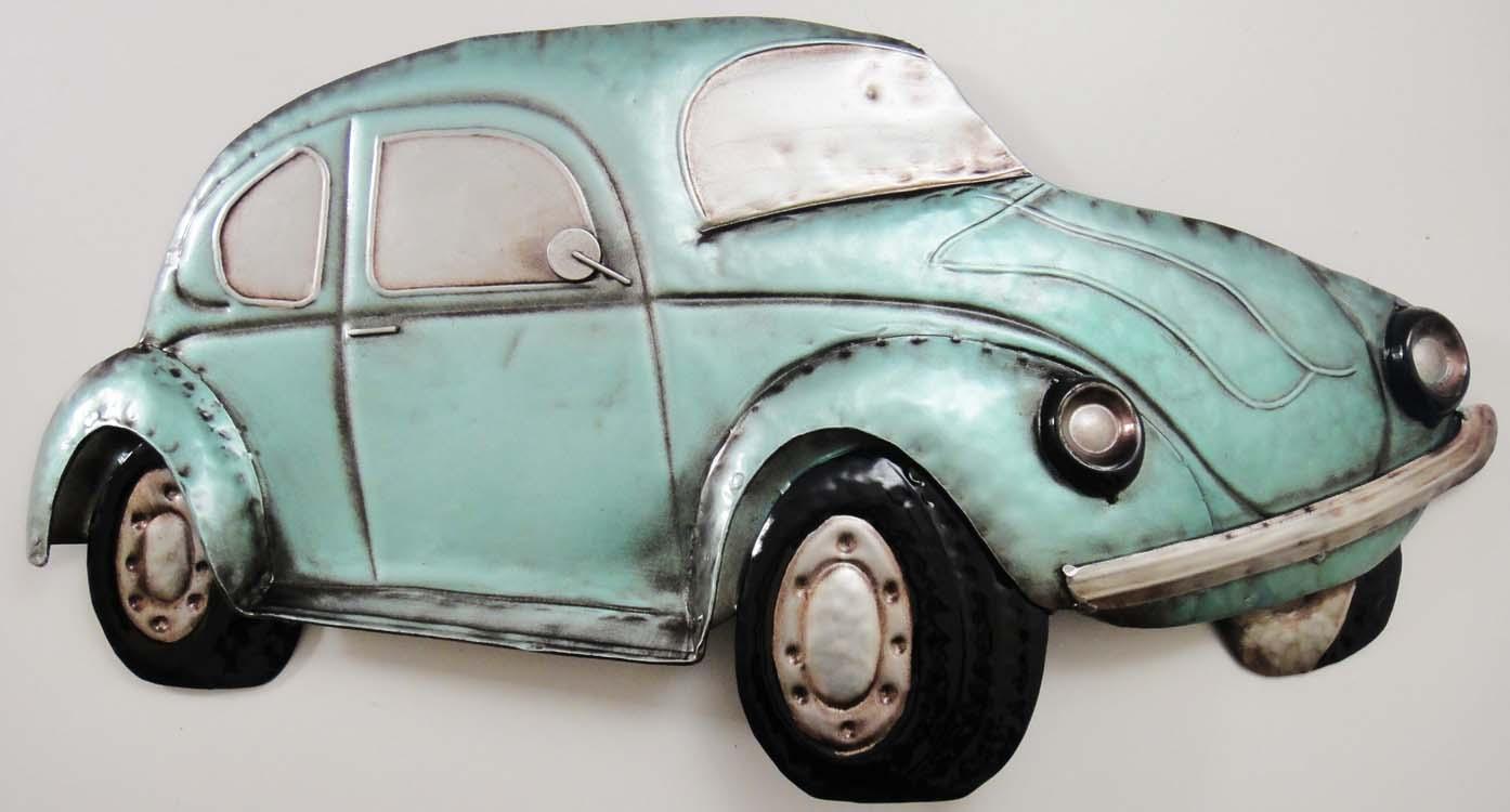 vintage car wall decor