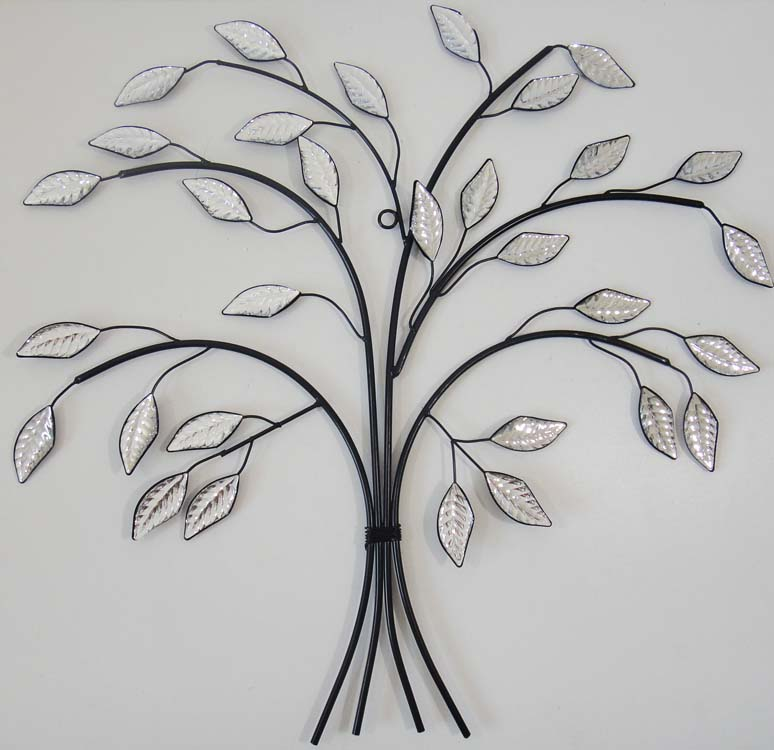 Tree Branch Wall Decor Metal : New contemporary metal wall art decor or sculpture