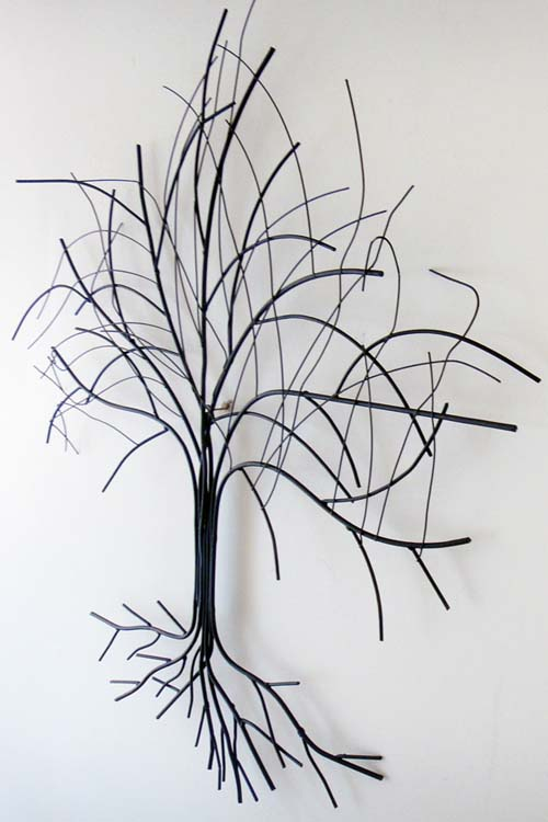 metal wall art small oak tree metal wall art 5155