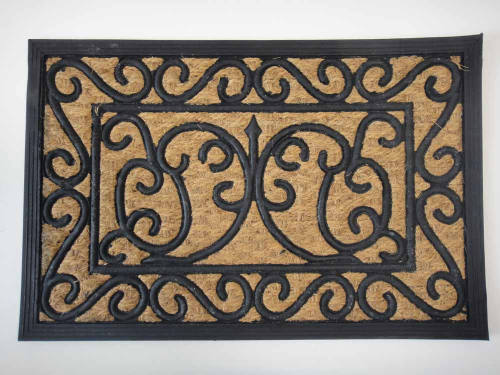 Panama Scroll Doormat