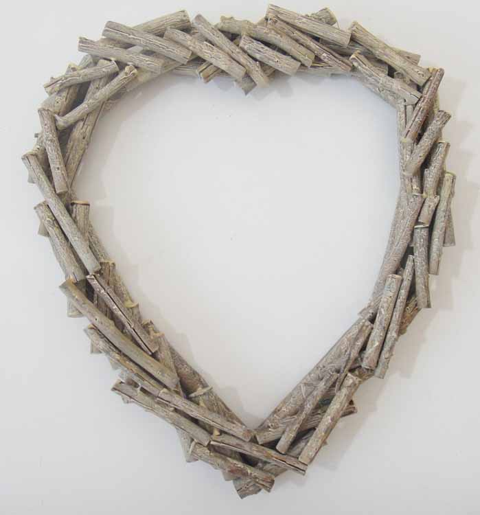 Large Heart Wall Decor : New shabby chic wood wall art decor or sculpture large