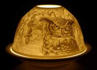 Candle Holder - Owl Glow Dome