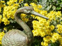 Cast Iron Garden Ornament - Heron