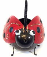 Garden Metal Ladybird Watering Can