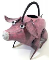 Garden Metal Pig Watering Can