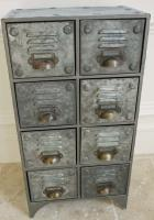 Industrial Metal Cabinet 8 Drawers
