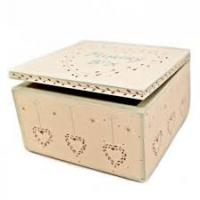Keepsake Box - East Of India Memory Box Heart Design