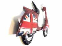 Metal Wall Art - Baby Union Jack Scooter