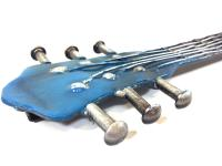 Metal Wall Art - Blues Guitar