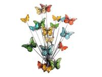 Metal Wall Art - Butterfly Explosion