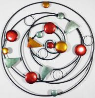 Metal Wall Art - Colour Abstract Solar System