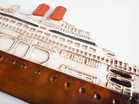 Metal Wall Art - Cruise Liner Ship