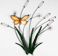 Metal Wall Art - Dragonfly Reeds