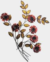 Metal Wall Art - Poppy Swoop