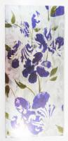 Metal Wall Art - Purple Flower Panel