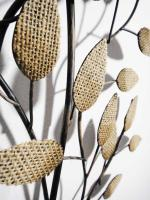 Metal Wall Art - Rustic Leaf Bunch
