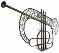 Metal Wall Art - Trumpet