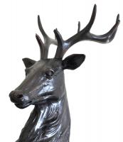 Resin Sculpture - Proud Stag / Deer Ornament