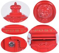 Vintage Red Grand Pillar Post Box