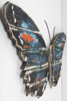 Wood Wall Art - Shabby Chic Butterfly