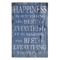 Wooden Wall Art - Best Of Everything Sign