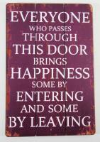 Wooden Wall Art - Everyone Who Passes Sign