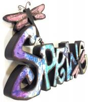 Wooden Wall Art - Spring Sign