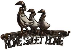 Antique Finish Duck Key Hook - Home Sweet Home