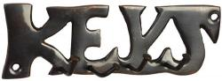 Antique Finish Key Hook - Keys