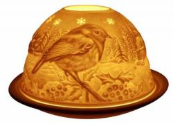 Candle Holder - Robin Glow Dome