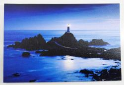 Canvas LED Wall Art - Lighthouse Rock