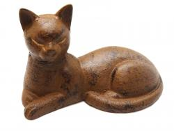 Cast Iron Cat Ornament