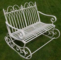 Garden Rocking Chair Bench