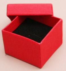 Gift Box - Red 5x5x3.5cm