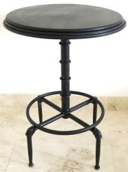 Industrial Style Bistro Bar Table