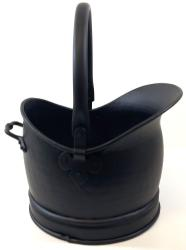Medium Black Helmet Coal Scuttle Bucket
