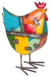 Metal Sculpture - Industrial Farmyard Rooster