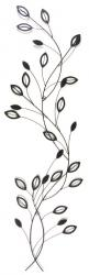 Metal Wall Art - Laurel Leaf Stem