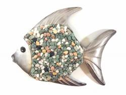 Metal Wall Art - Pebble Fish