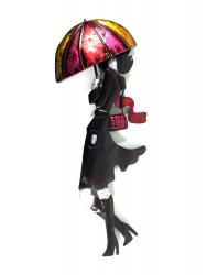 Metal Wall Art - Rainy Day Lady