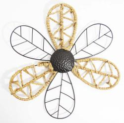 Metal Wall Art - Rope Daisy Flower