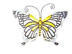 Metal Wall Art - Small Blue Butterfly