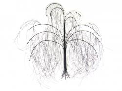 Metal Wall Art - Large Wisp Willow Tree
