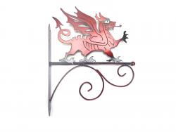 Red Welsh Dragon Wall Bracket