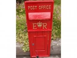 Replica Royal Mail ER Post Box Or Letter Box Fascia - Red