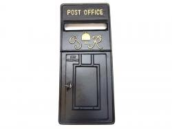 Replica Royal Mail GR Post Box Or Letter Box Front Fascia - Black