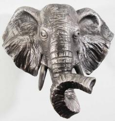 Resin Wall Art - Elephant Head